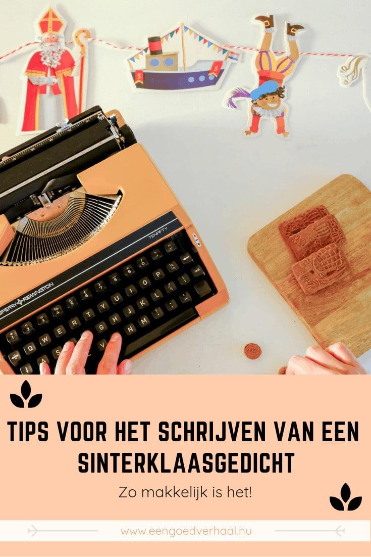 tips sinterklaasgedicht schrijven
