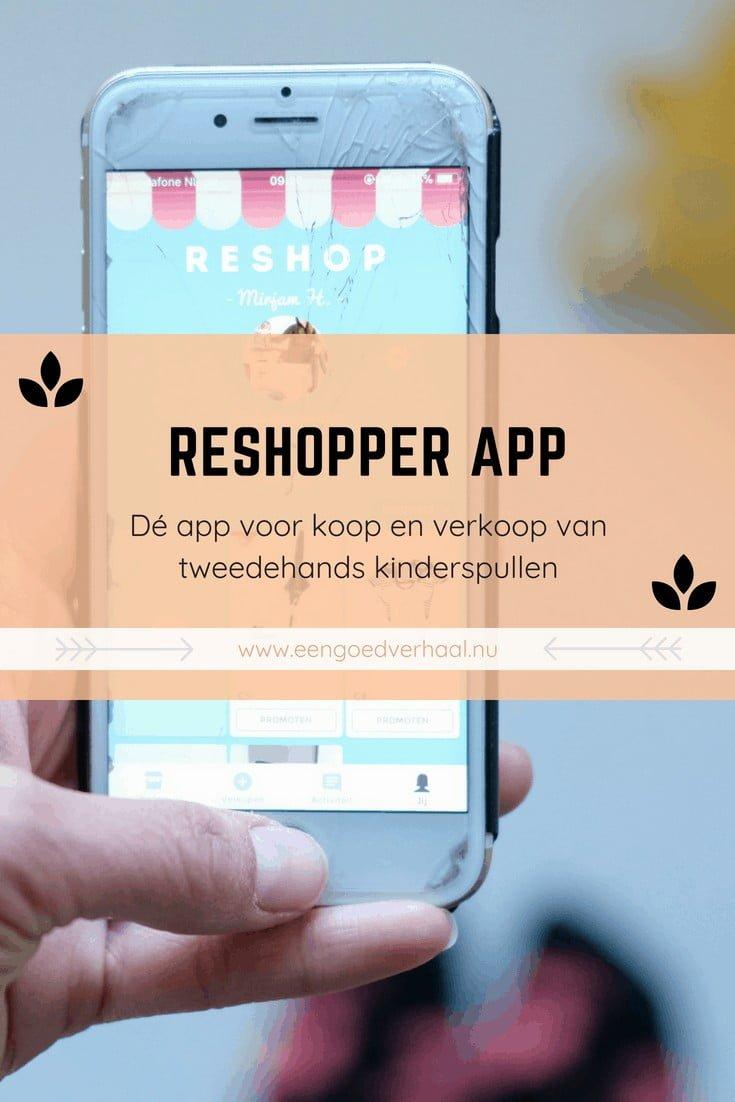 telefoon app verkoop kinderkleding