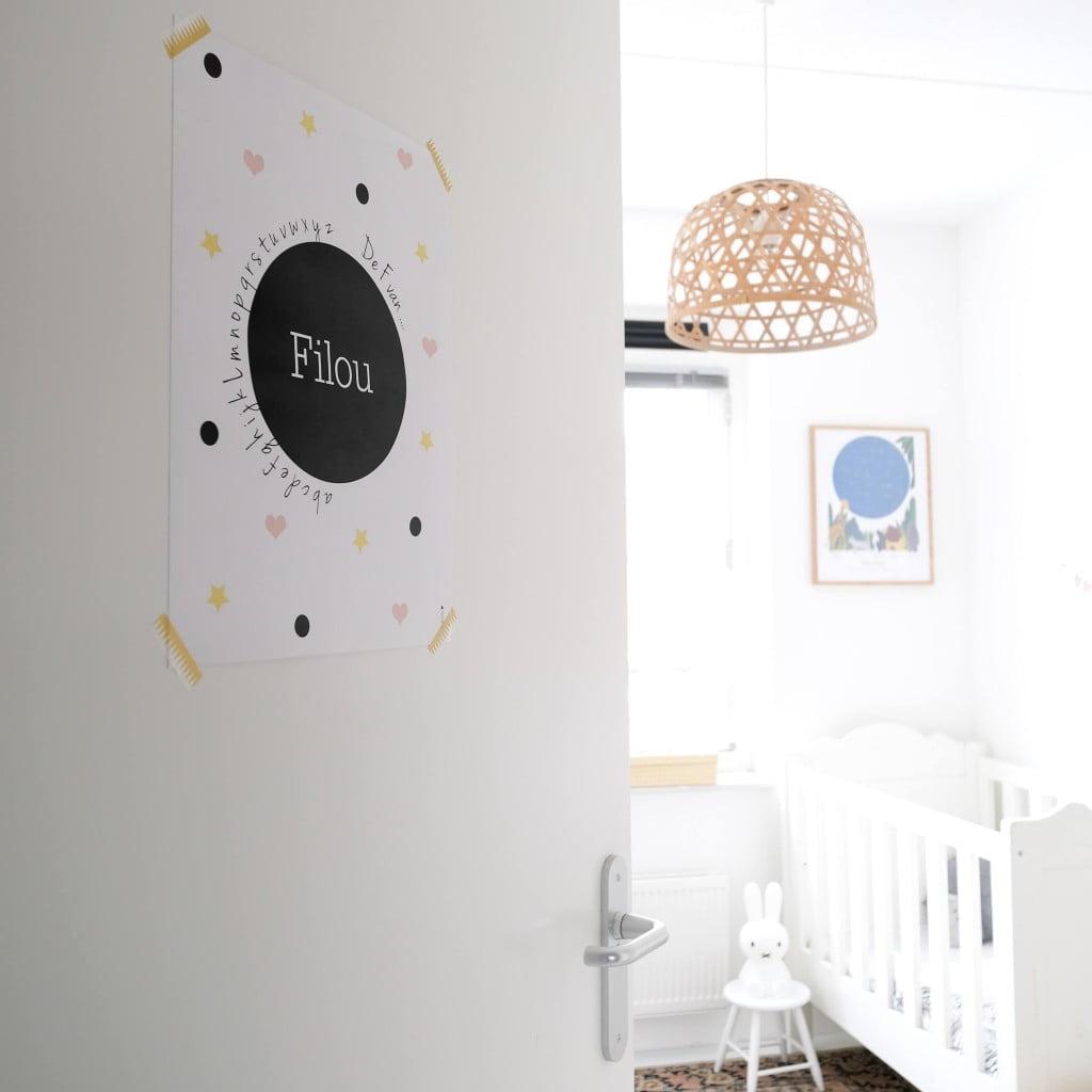 Binnenkijker babykamer Filou