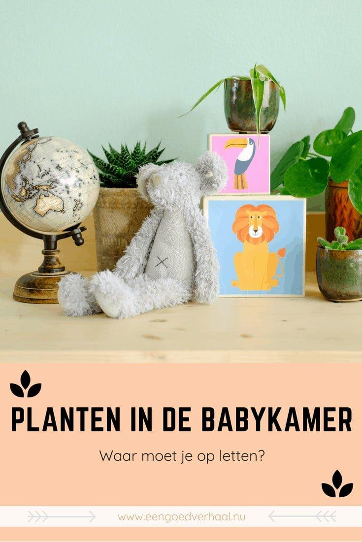 pinterest planten voor de babykamer