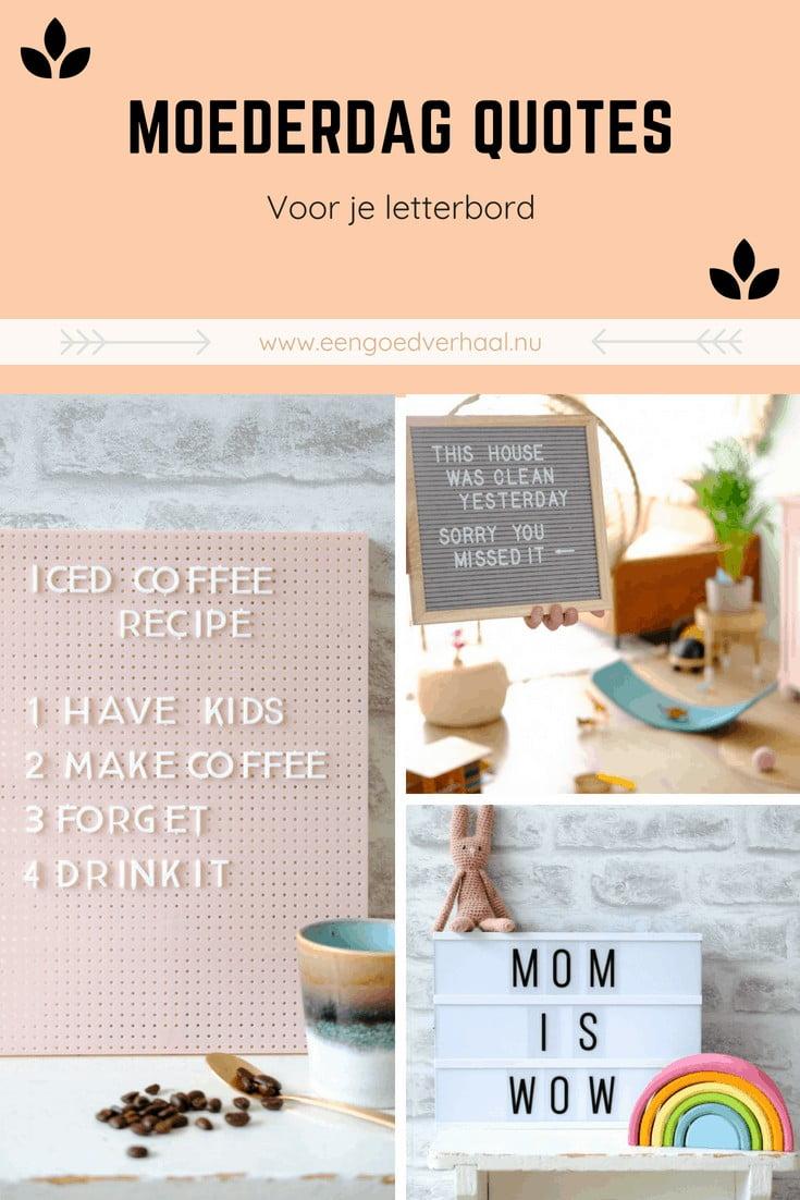 moederdag quotes letterbord lightbox