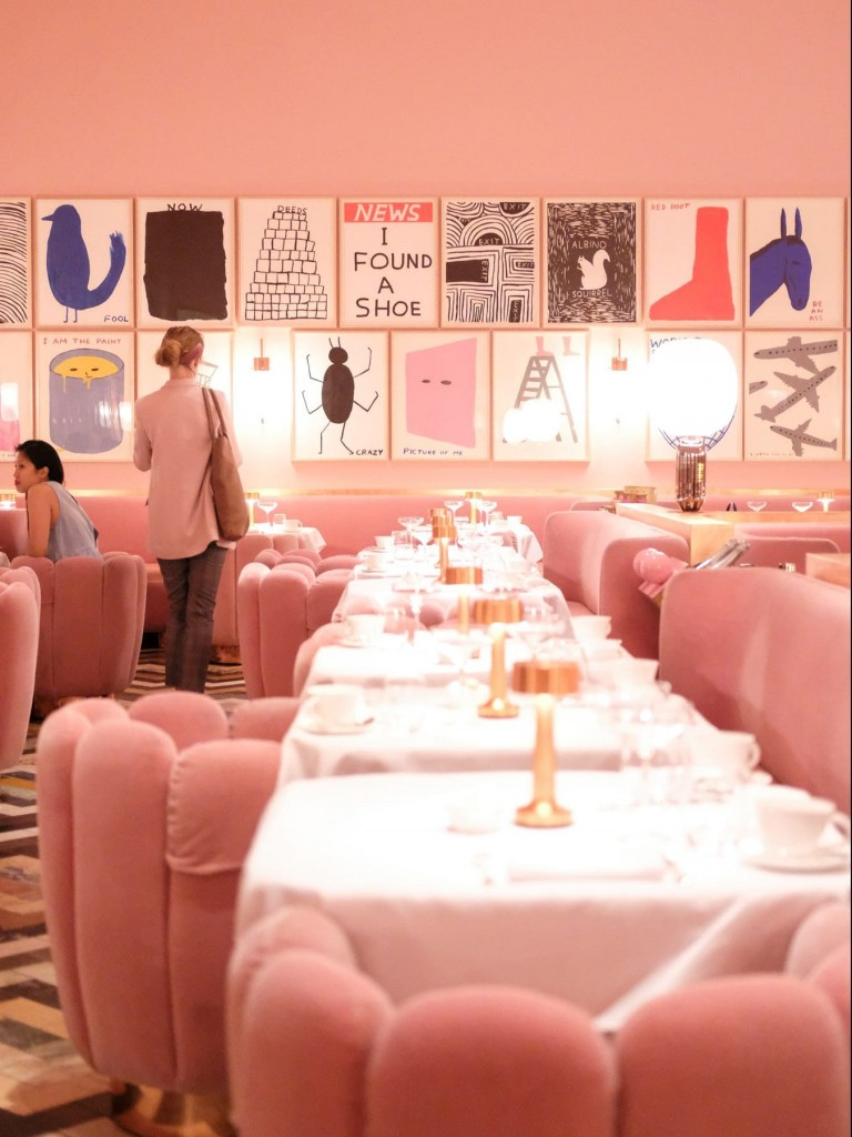 pink instagram photo london