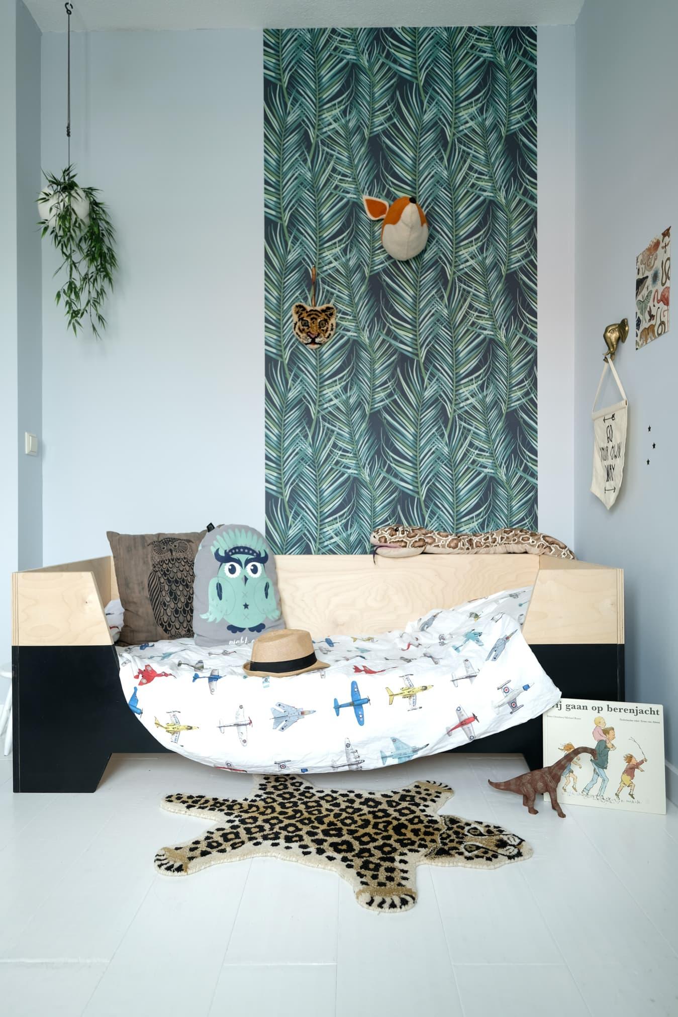 stoere jungle kamer maken