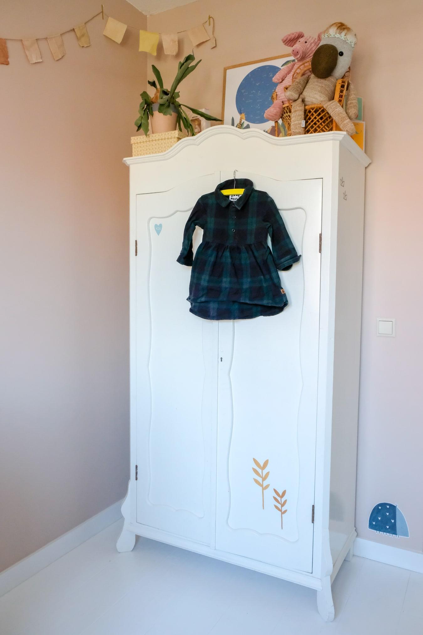 timzowood kledingkast babykamer