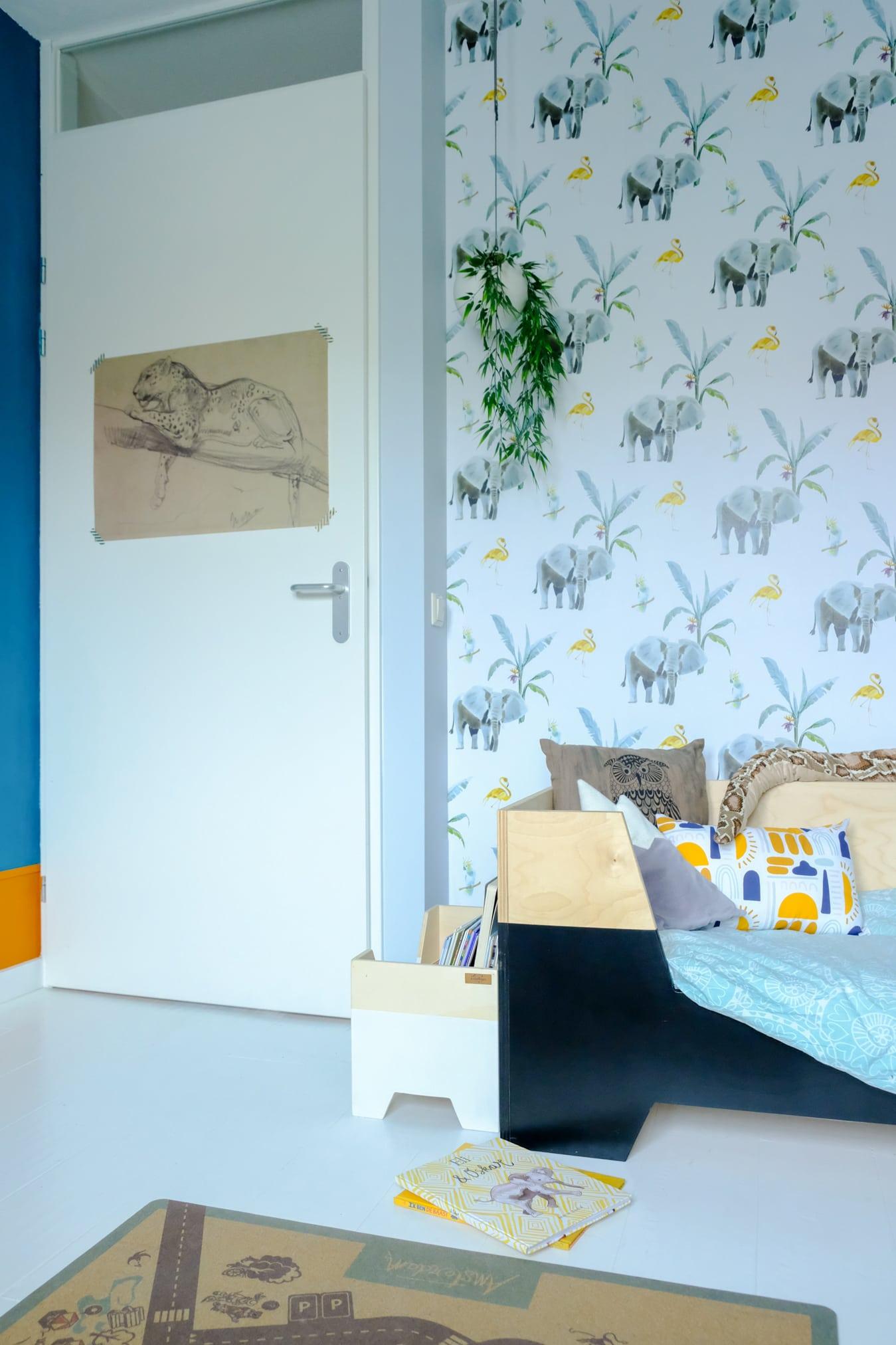 creative lab amsterdam junglebehang