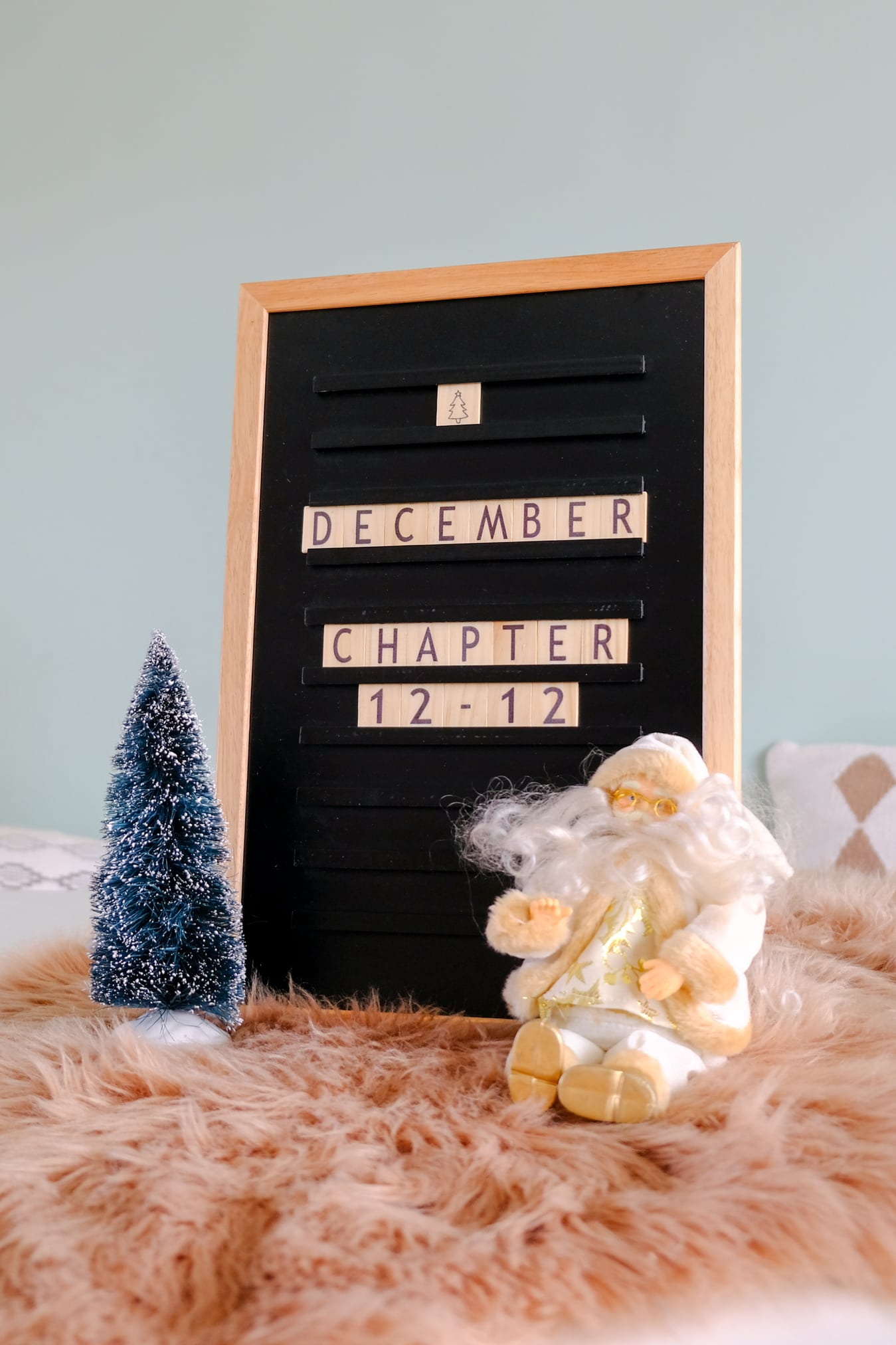winter tekst letterbord