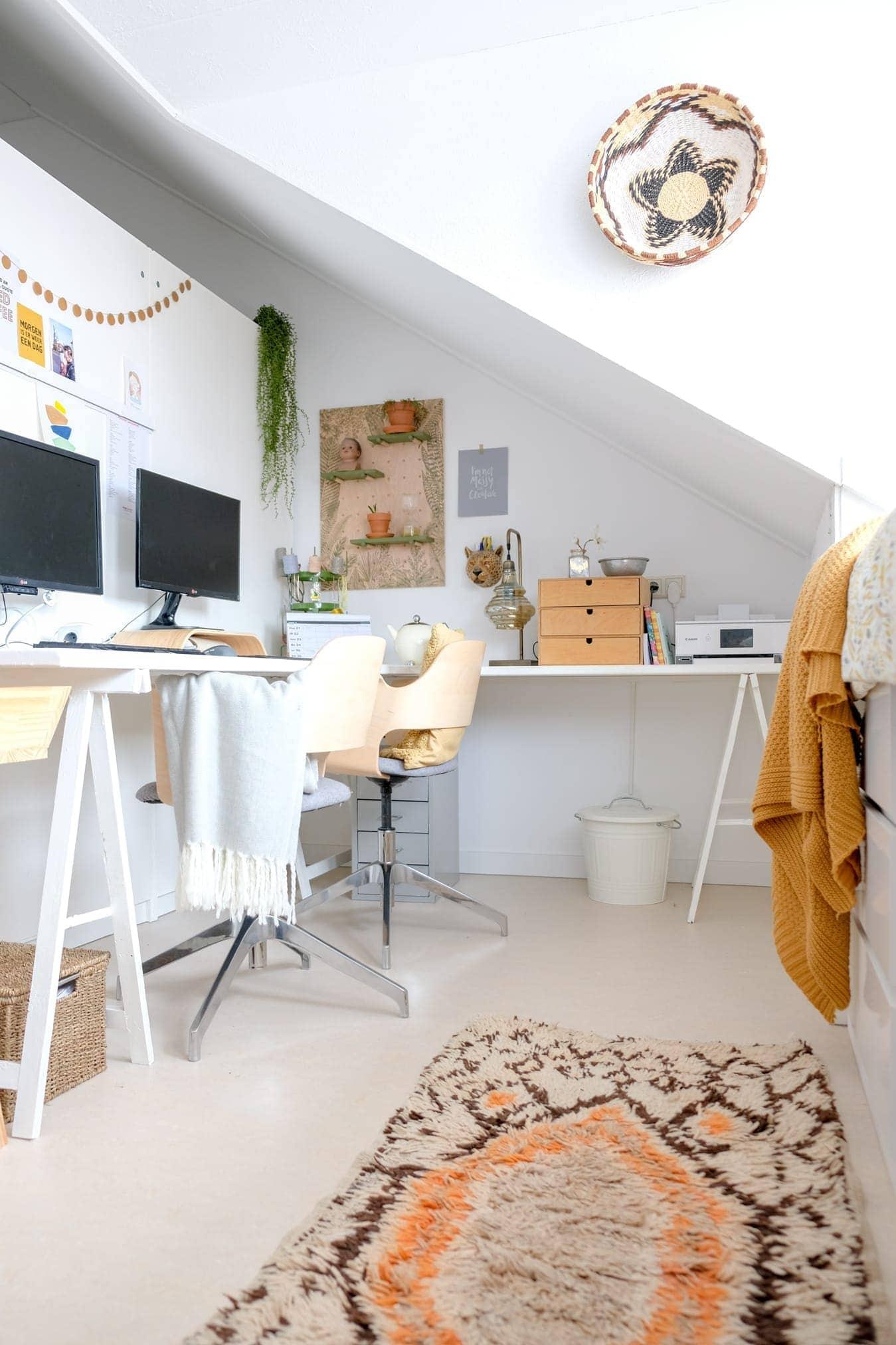 werkplek blogger