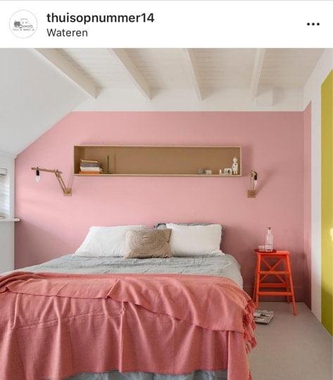 kleurrijke feed wonen instagram