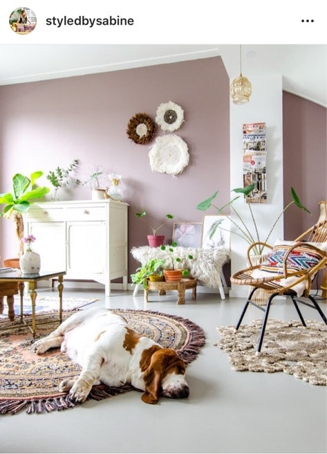interieur insta styled by sabine