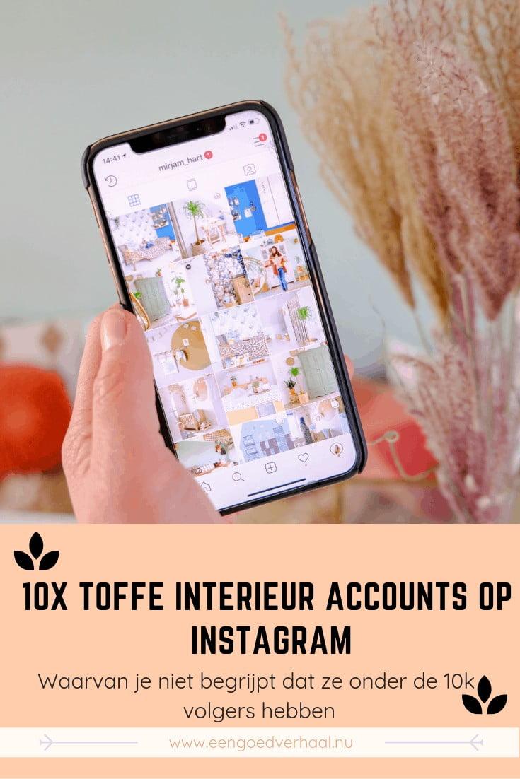 veelbelovende interieur accounts op instagram