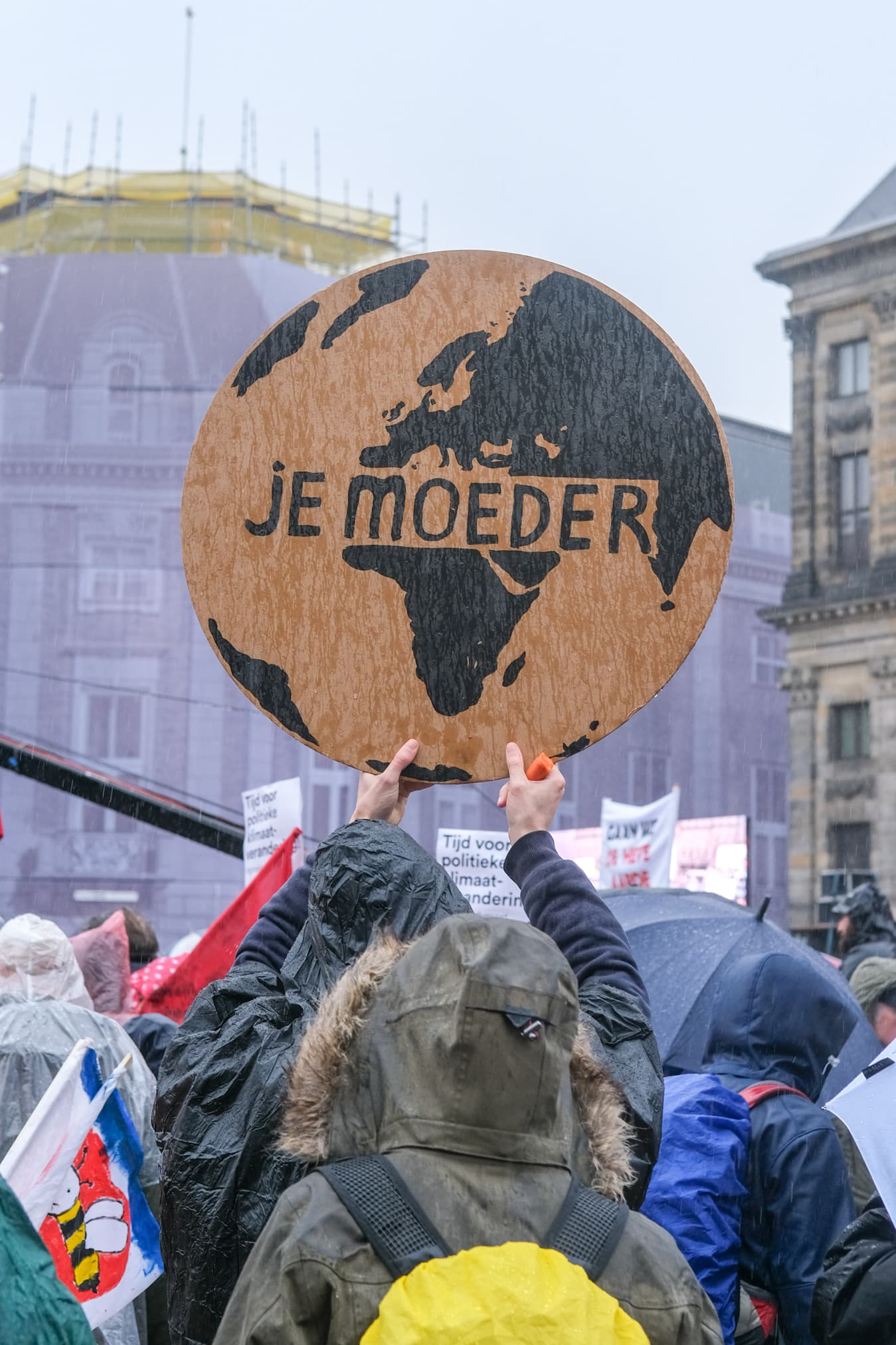 aarde slogan klimaatmars