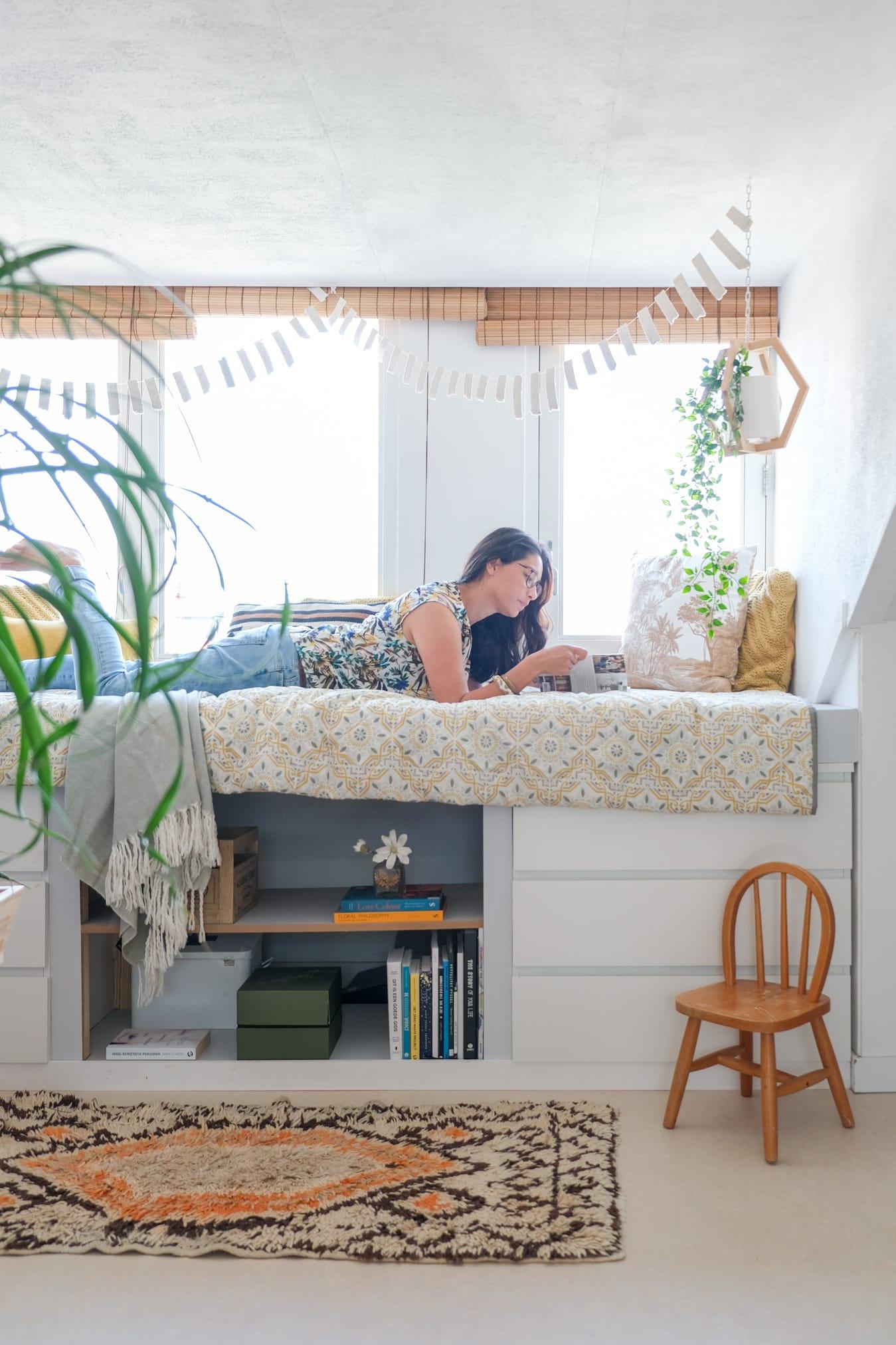 zolderruimte slaapkamer