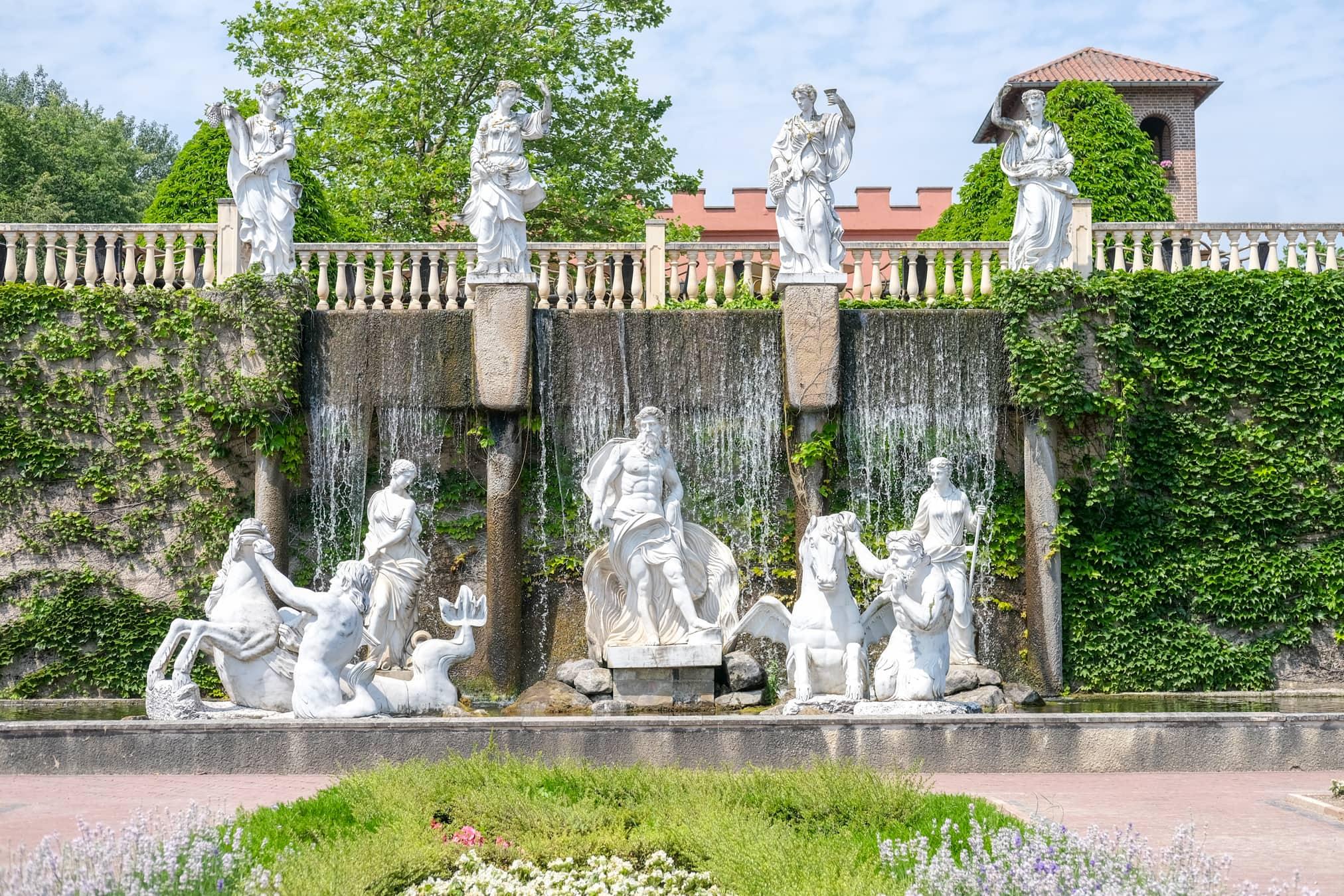 replica trevi fontein