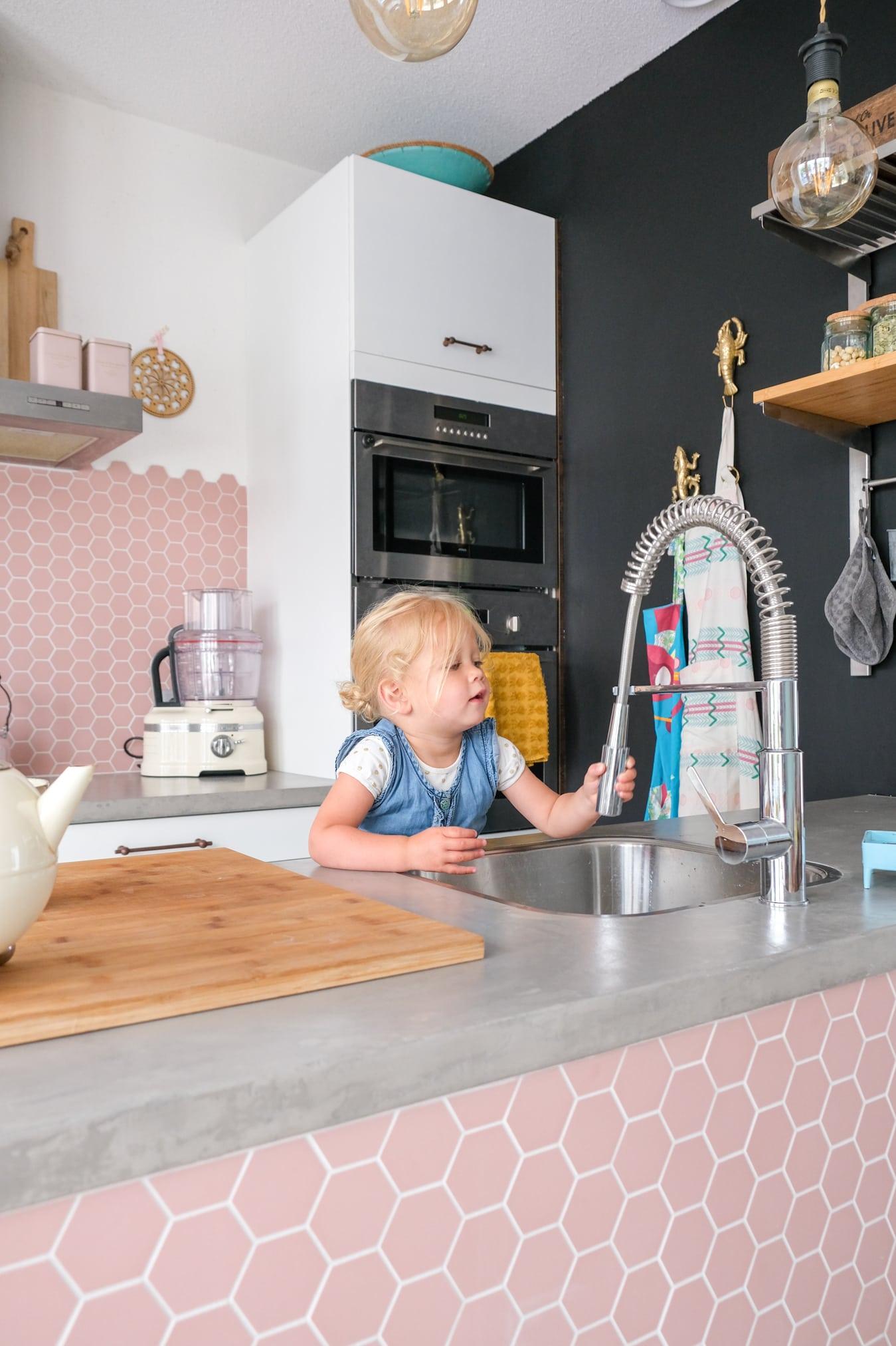 kindvriendelijke keukenkraan