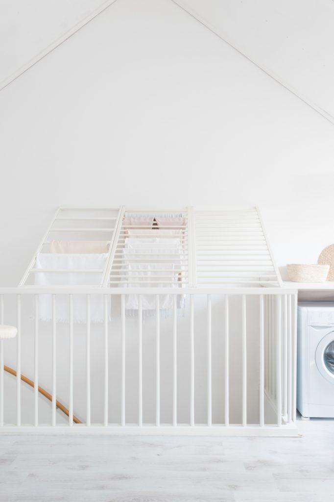 organizedbyveerle wasrek boven trapgat maken