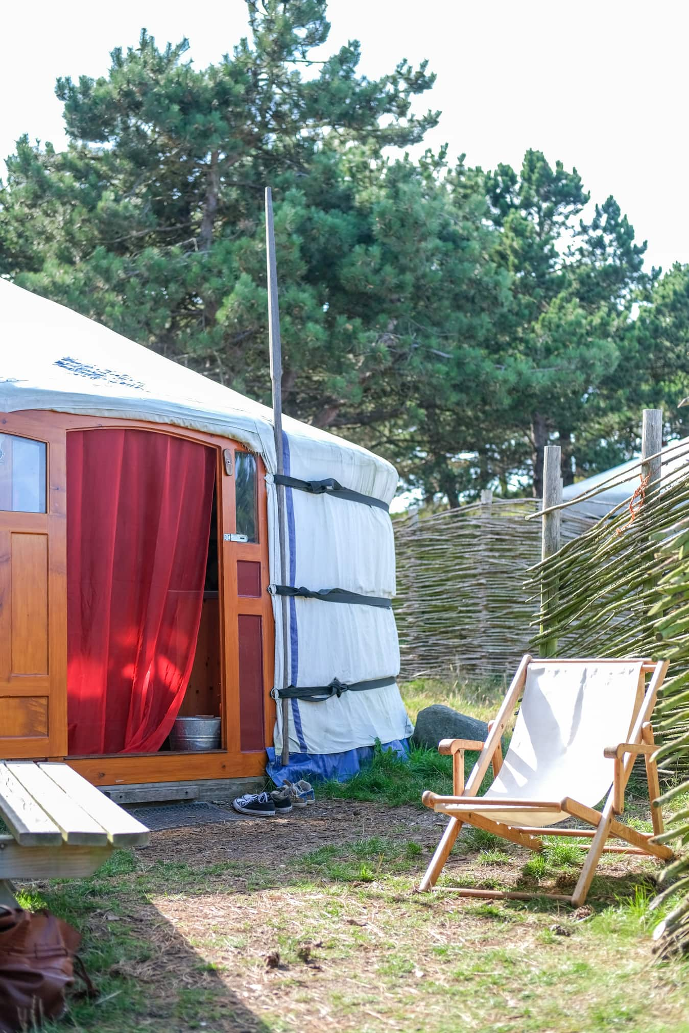 overnachting yurt nederland