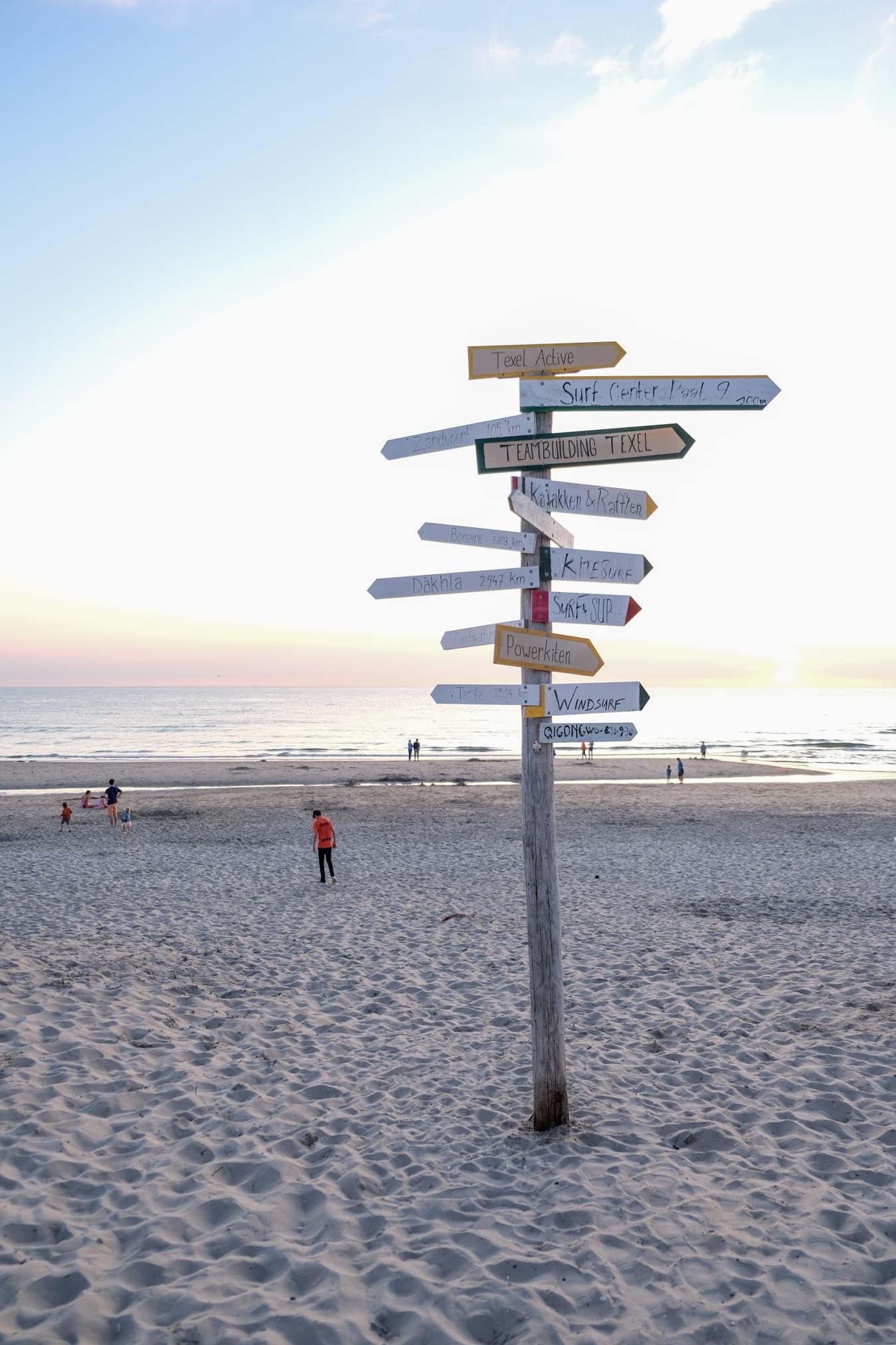 texel strand de koog