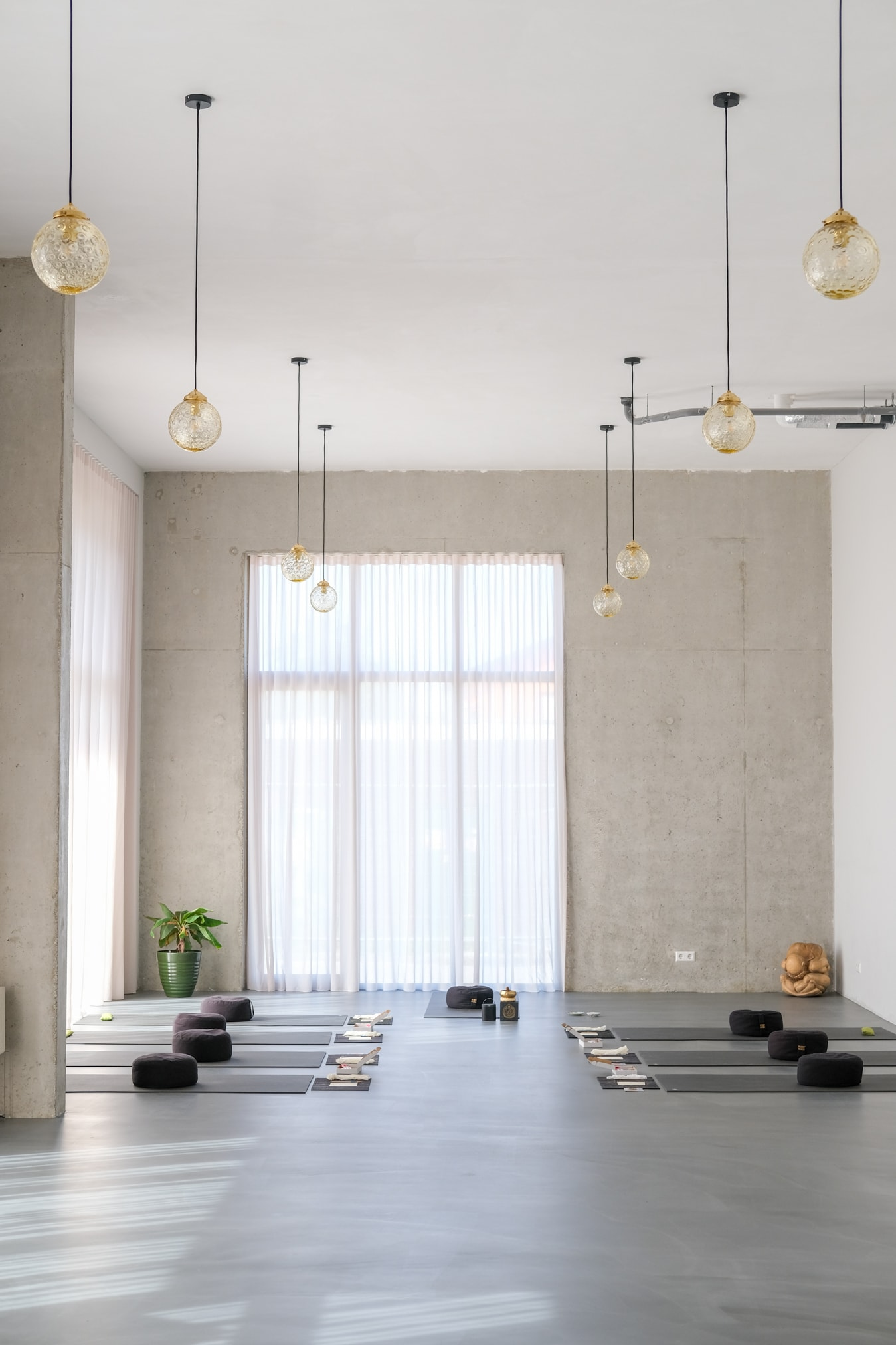 mooie yoga ruimte in Amsterdam