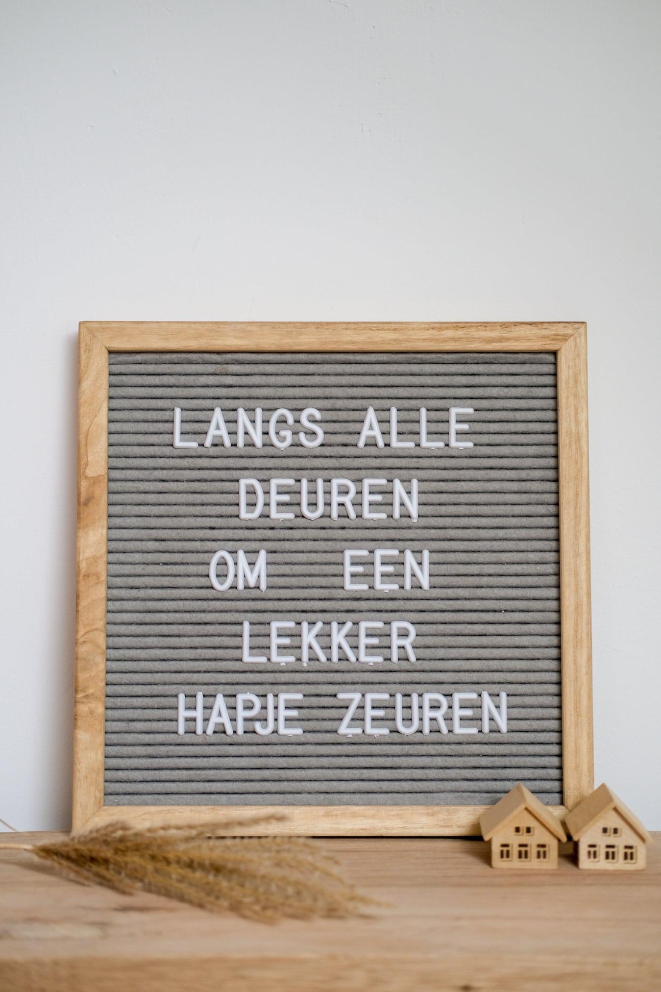 letterbord quotes over sint maarten