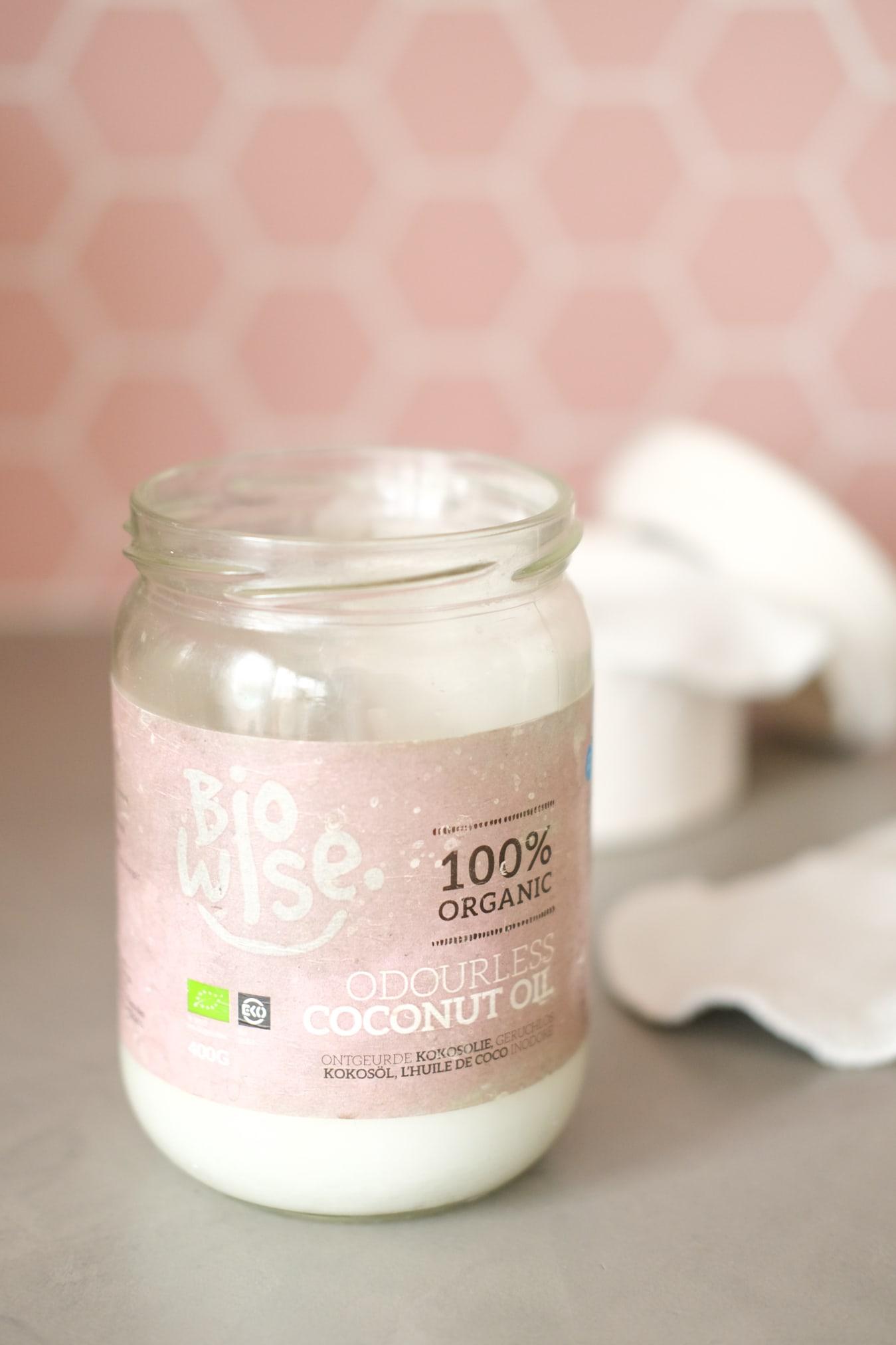 kokosolie make-up verwijderen