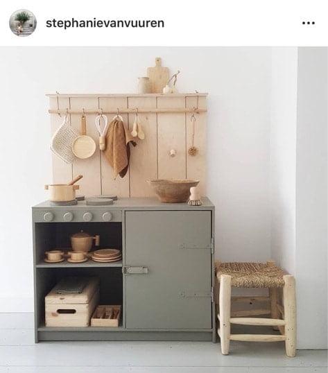 speelkeukentje hout