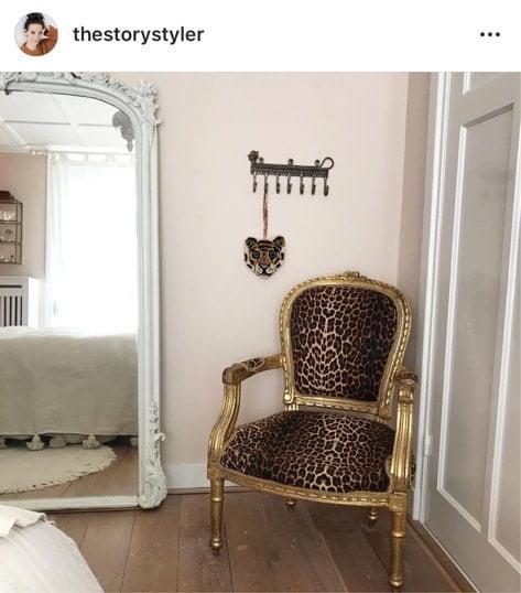 luipaard stoel