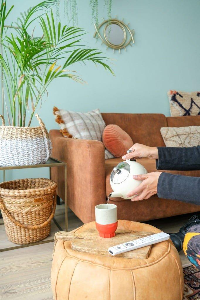 duurzame thee zetten