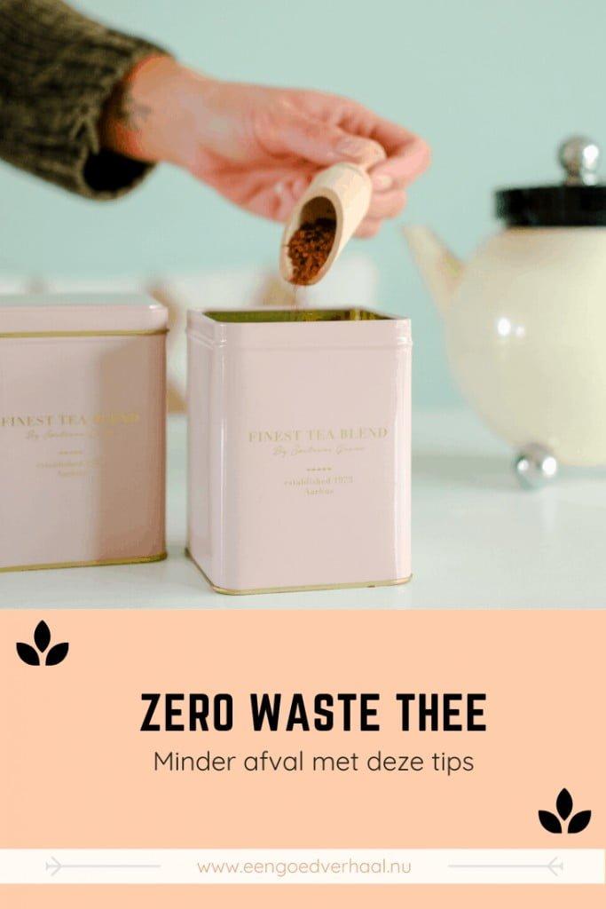 duurzame theetips
