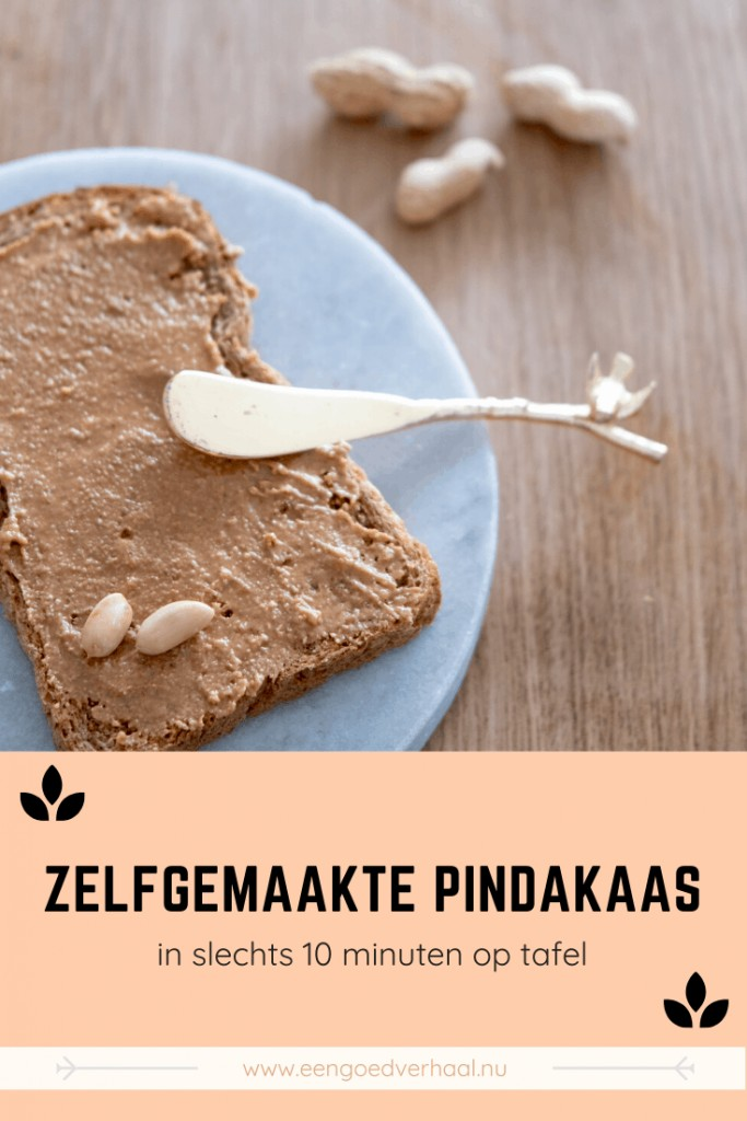 zelfgemaakte pindakaas recept