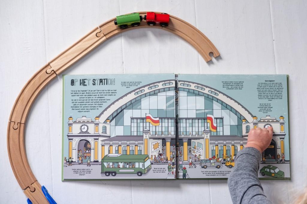 prentenboek station