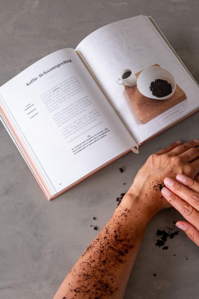 koffieprut als scrub recept