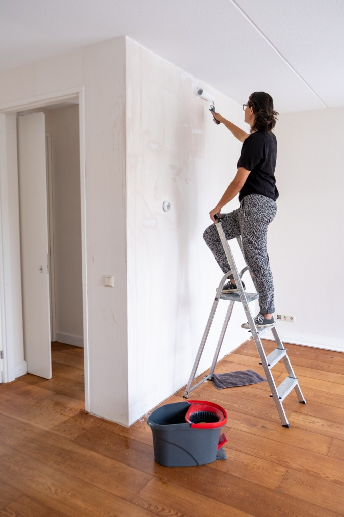 makkelijk verwijderen behang muur