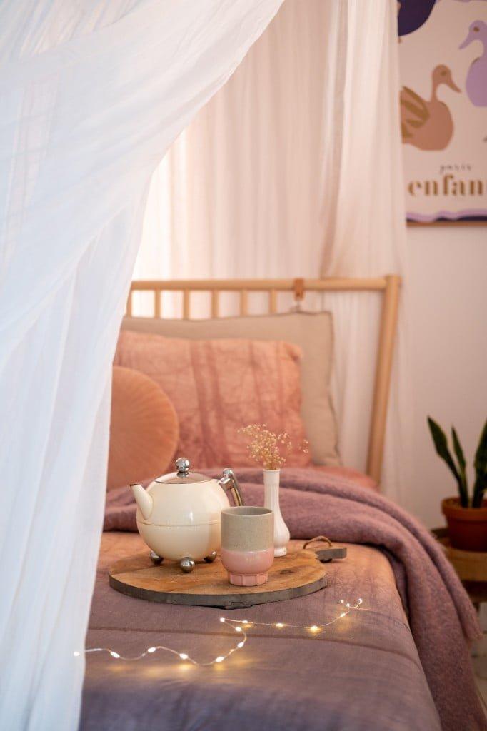 muskietennet slaapkamer
