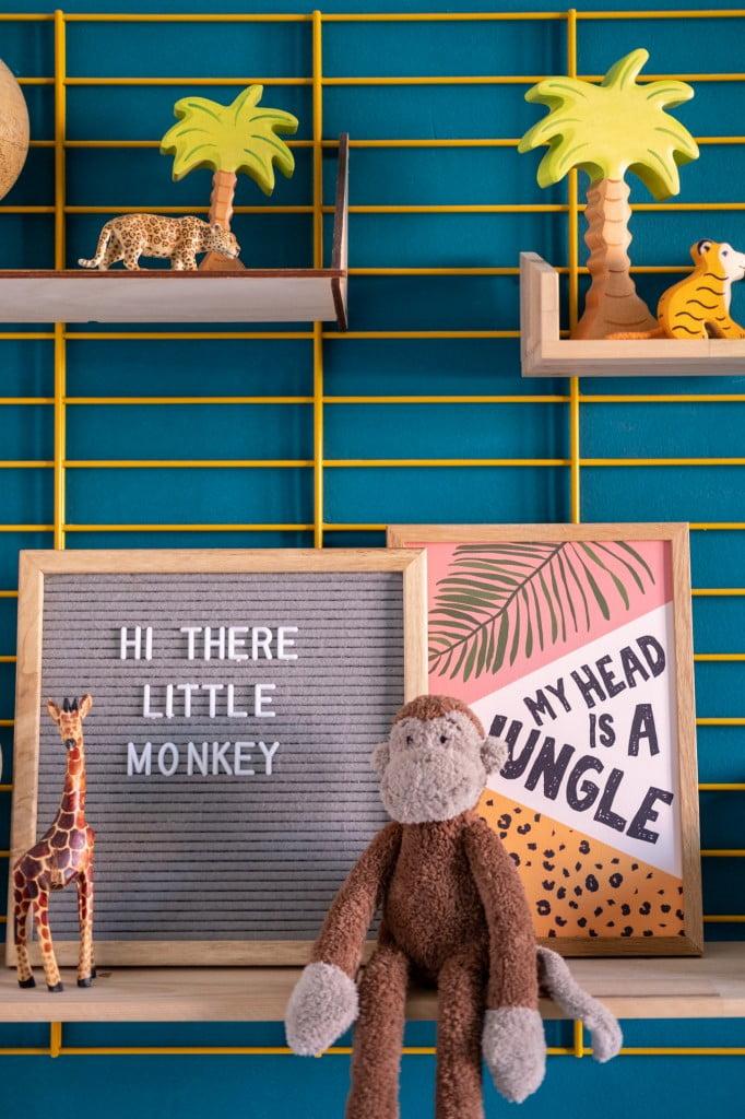 jungle kamer quotes letterbord