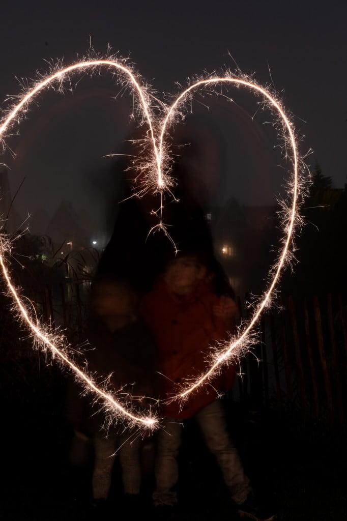 foto met sterretjes inspiratie hart