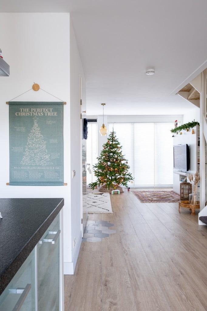 doorkijkje kersthuis kleur