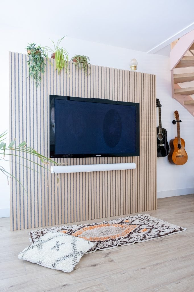 akoestische wandpanelen tv kast