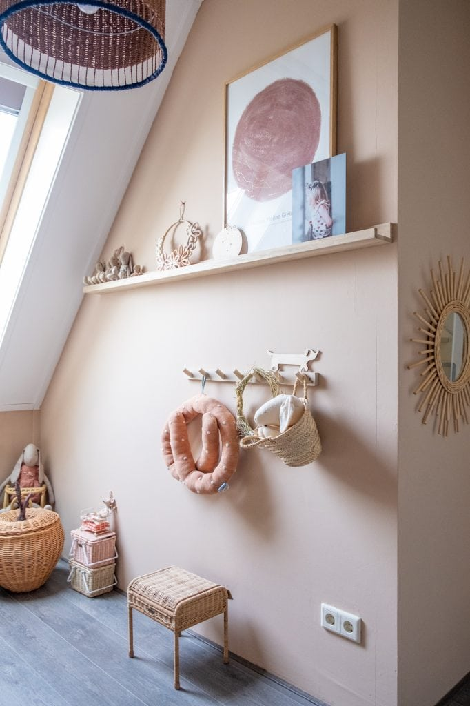 houten accessoires meidenkamer