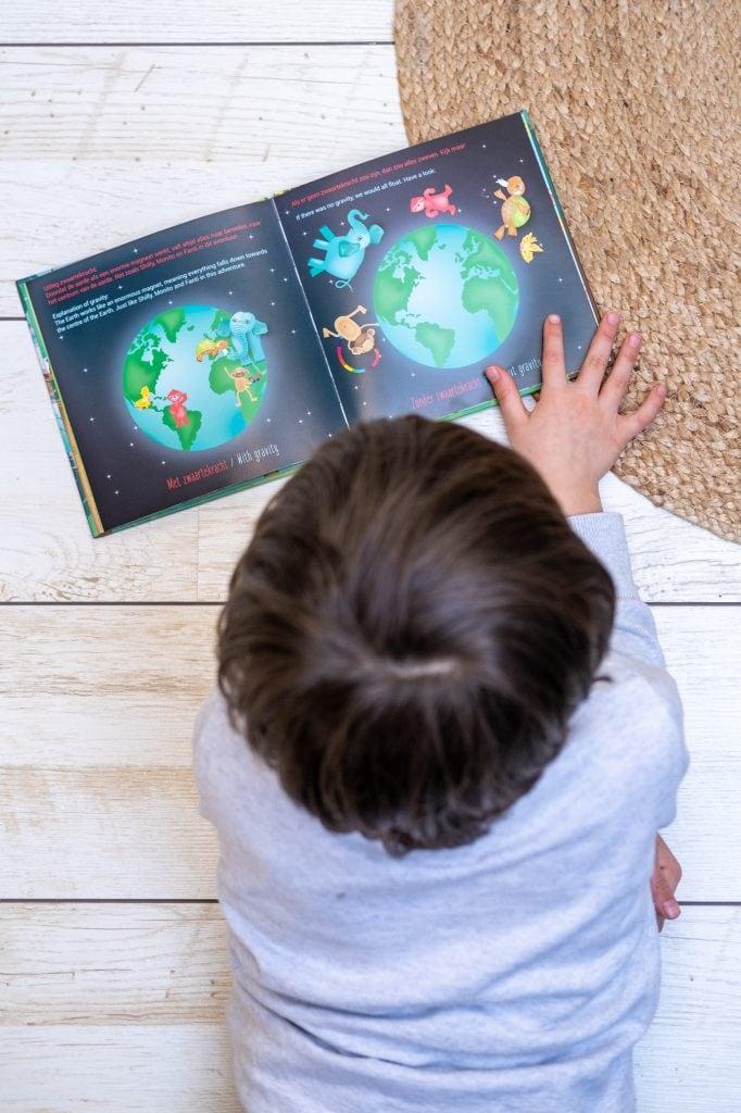 kinderboek engels nederlands