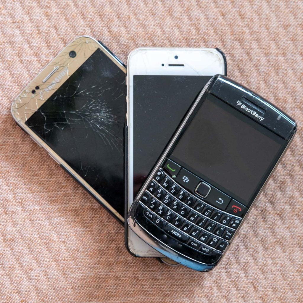 wat kun je doen met oude telefoon