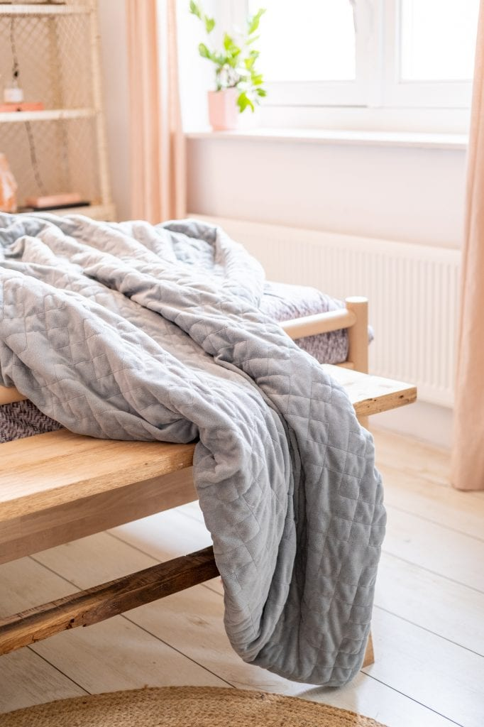 slapen met een verzwaringsdeken review