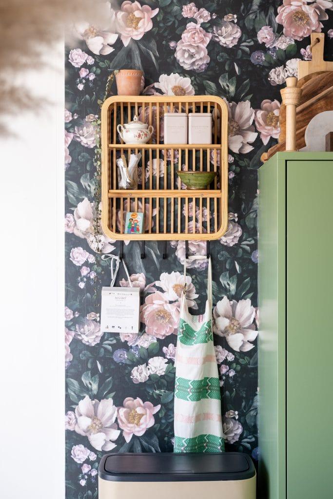 bamboe keukenrek