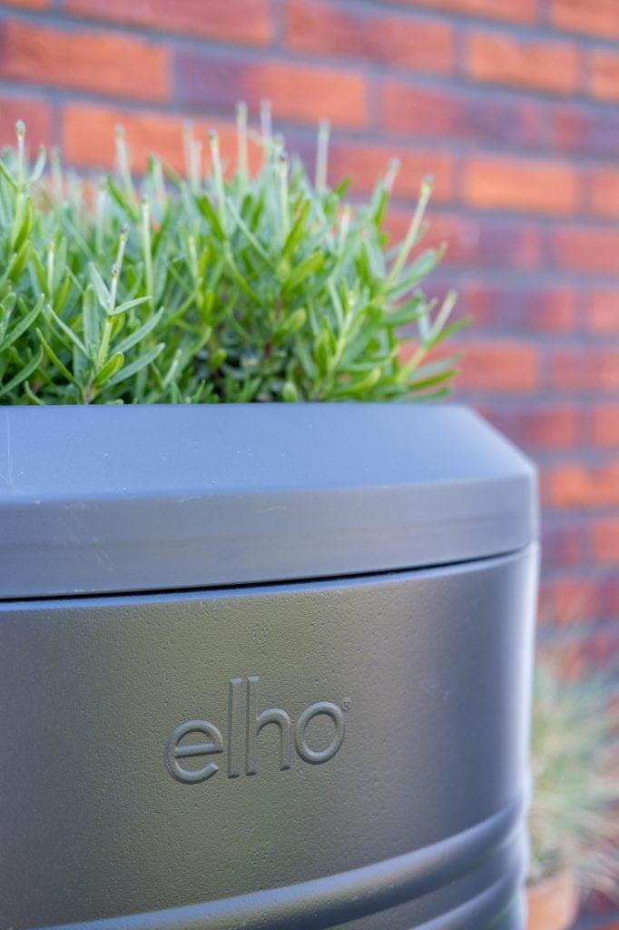 elho green basics regenton met lavendel