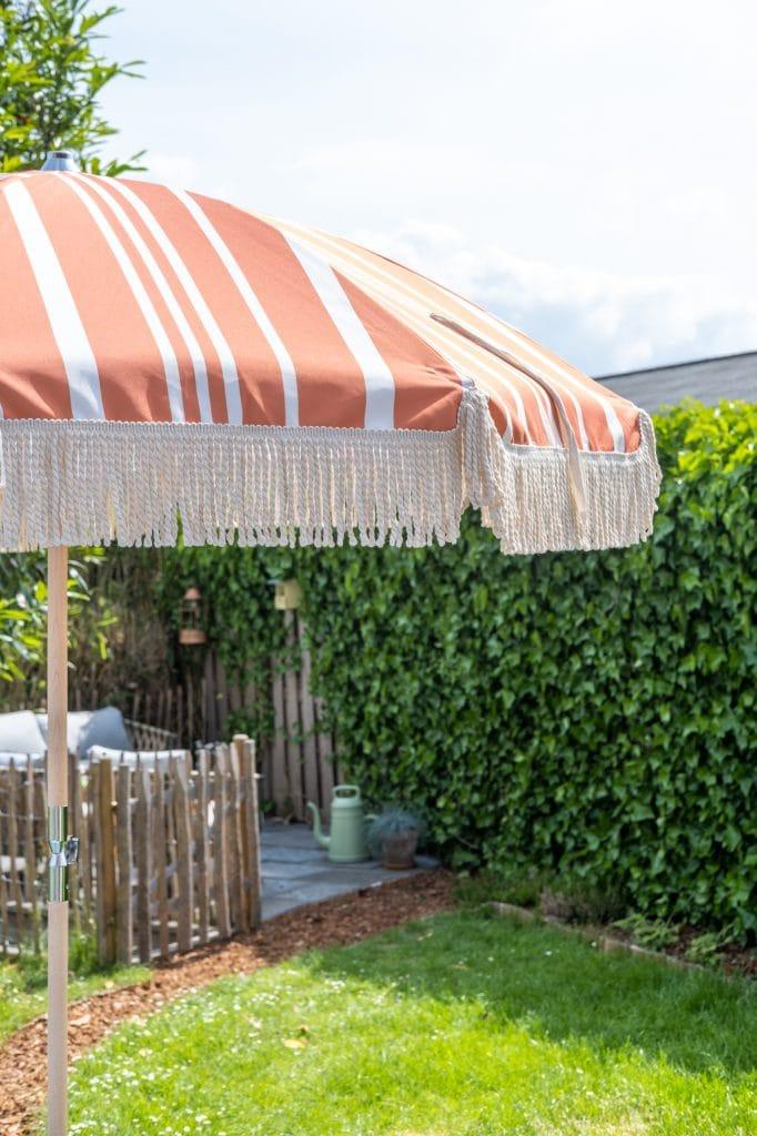 parasol met streepjes