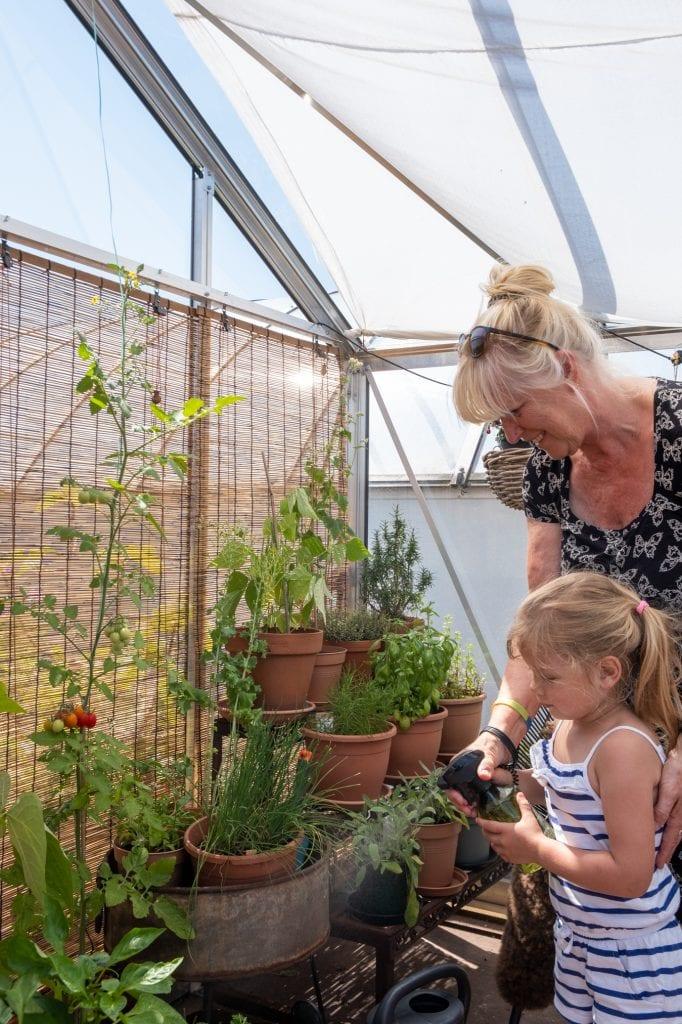planten verzorgen met kinderen