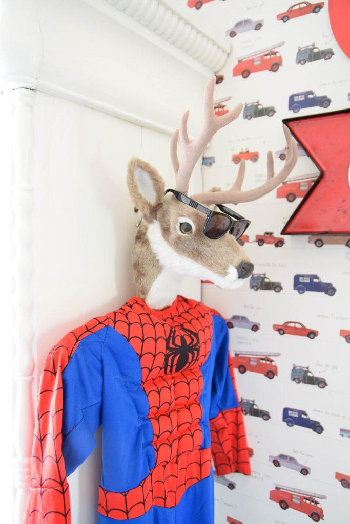superhelden populair themakamer