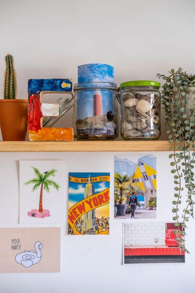 vakantiefoto's in huis inspiratie