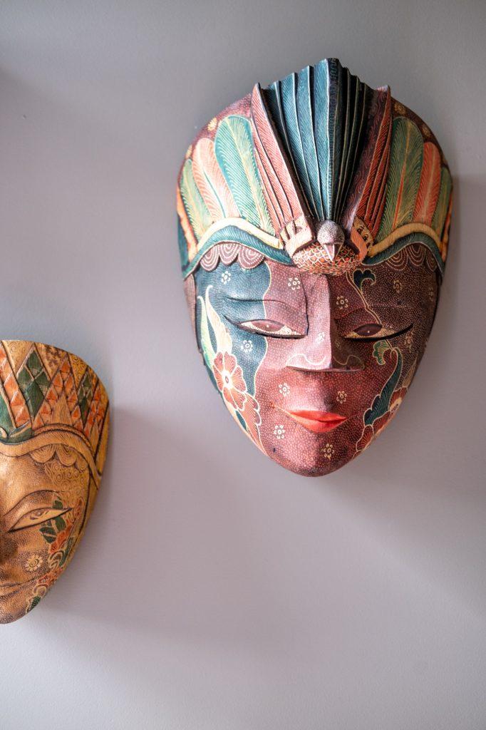 houten masker Indonesië